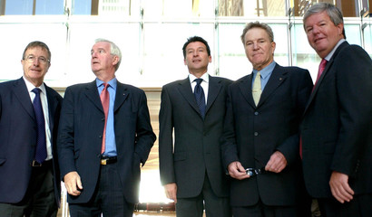 Representatives from the London 2012 Olympic Committee.