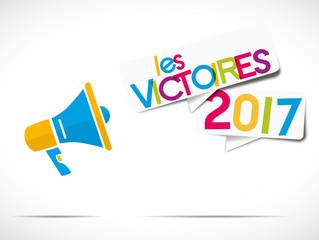 megaphone : les victoires 2017