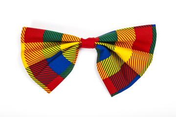 Fliege vom Clown-Kostüm Freisteller
