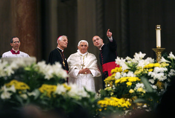 The Pope visits the Basilica of the National Shrine of the Immaculate Conception in Washington