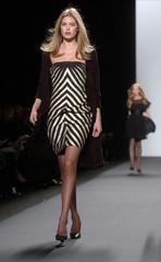 Models walk the runway at the Bill Blass Fall 2006 fashion show during New York Fashion Week