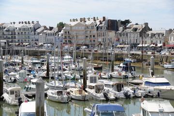 Hafen von Le Pouliguen, Frankreich
