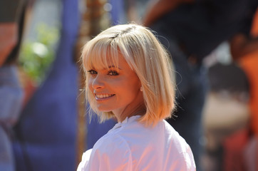 "Cast member Jamie Pressly attends the premiere of the film ""Horton Hears a Who!"" in Los Angeles"