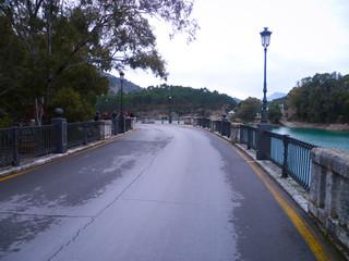 Carretera de la presa