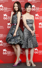 "Actresses Yuqin and Ye attend ''Yi Ngoy "" photocall at the Sala Grande during at the 66th Venice Film Festival"