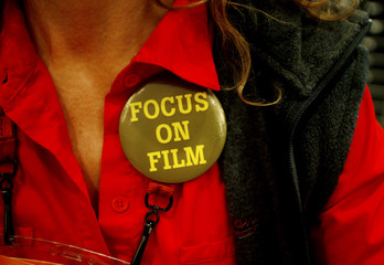 Buttons at Sundance Film Festival focus attention on films