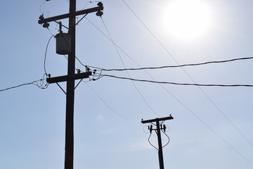 Midday Power Lines