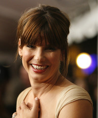 Sandra Bullock smiles at the premiere of Infamous during the 31st Toronto International Film Festival in Toronto