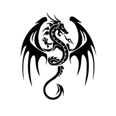 Wivern tattoo design