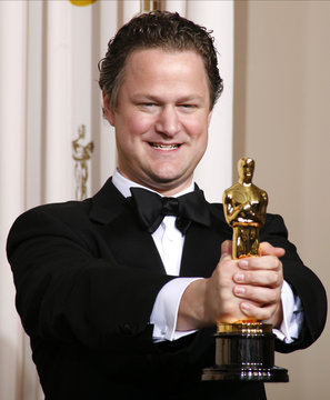 """German director Florian Henckel von Donnersmarck poses with his Oscar for Best Foreign Language Film for """"The Lives of Others"""" at the 79th Annual Academy Awards in Hollywood"""