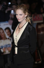 """U.S. actress Uma Thurman arrives for the British premiere of """"The Accidental Husband"""" in London's Leicester Square"""