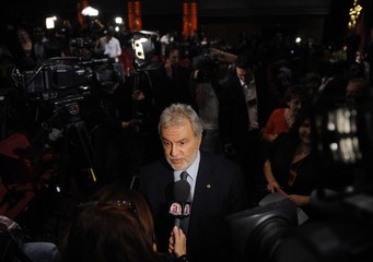 Academy of Motion Picture Arts and Sciences President Sid Ganis is interviewed after the 81st annual Academy Awards nominee announcements in Beverly Hills