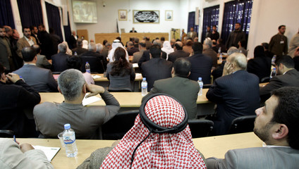 Palestinian lawmakers attend meeting in Gaza