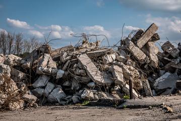 Gebäude Abriss und Entkernung
