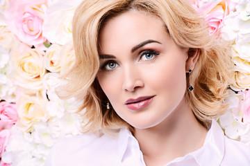 spring woman portrait