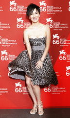 """Actress Ye attends the ''Yi Ngoy """" photocall at the Sala Grande during at the 66th Venice Film Festival"""