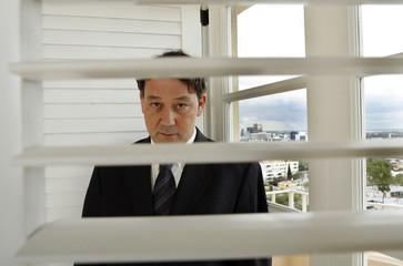 Sam Raimi, director of Spider-Man 3, poses for pictures in Beverly Hills