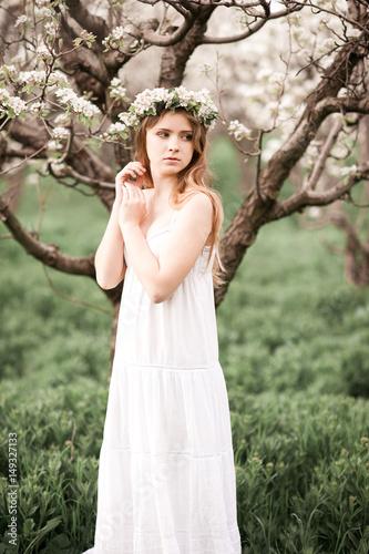 Beautiful Teen Girl 14 16 Year Old Wearing Elegant White