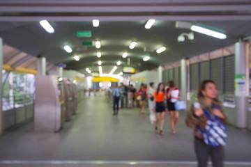 Blur Subway Station