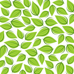 Leaves background. Vector