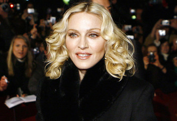 Madonna arrives for the screening of her film 'Filth and Wisdom' running at the Berlinale International Film Festival in Berlin