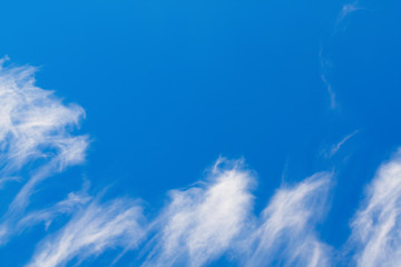sky background in a clear day