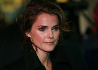 Actress Keri Russell arrives for the UK premiere of Bedtime Stories in London