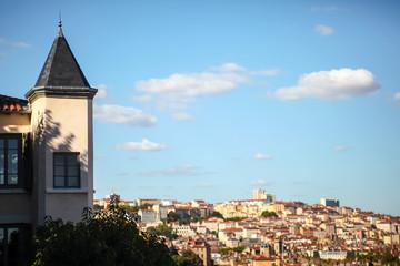 Lyon, rooftops