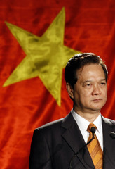 Vietnam's Prime Minister Nguyen Tan Dung attends a business forum in Melbourne