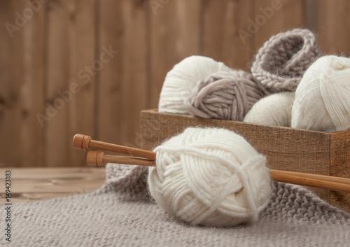 Knitting Accessories Australia : Quot yarn balls wooden knit needles knitting accessories