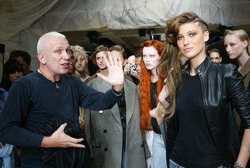 FRENCH DESIGNER JEAN-PAUL GAULTIER SEEN PRIOR TO HIS AUTUMN-WINTER2002/2003 HAUTE COUTURE ...