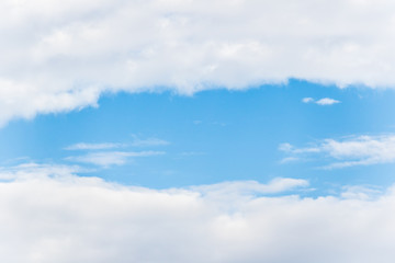 beautiful of blue sky with cloud.