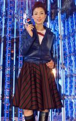 HONG KONG ACTRESS-SINGER SAMMI CHENG PROMOTES SOFTDRINK IN CHINA.