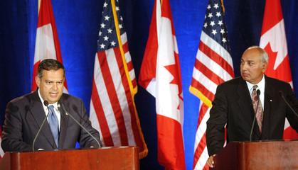 US ENERGY SECRETARY ABRAHAM AND CANADIAN MINISTER DHALIWAL.