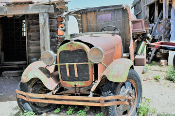 Rusted Old Junker Truck