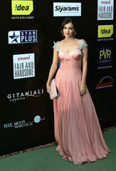 Bollywood actress Mirza arrives at the 10th International Indian Film Academy (IIFA) awards in Macau