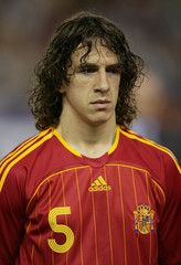 World Cup 2006 Preview - Carles Puyol of Spain