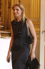 French actress Princess Clotilde of Savoy attends a ceremony at the Foreign Ministry in Paris