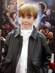 British actor Freddie Popplewelk, who portrays 'Michael Darling' in the fantasy adventure motion pic..
