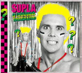 "THE CD ""BRAZILIAN CHARADE"" OF BRAZILIAN PUNK ROCKER SUPLA."