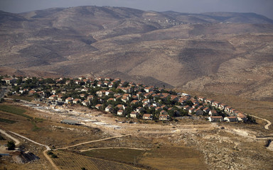 A view of the West Bank Jewish settlement of Kokhav Hashahar