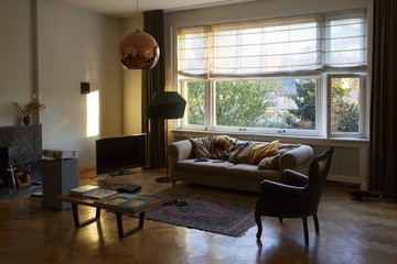 living room of an apartment