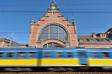 Dworzec Kolejowy w Gdańsku.