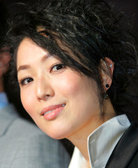 Hong Kong actress Cheng arrives for the opening of the 18th Tokyo International Film Festival in Tokyo