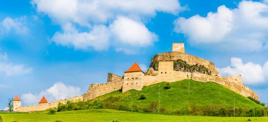 Wall Mural - Medieval Fortress Rupea, Brasov landmark, Transylvania, Romania