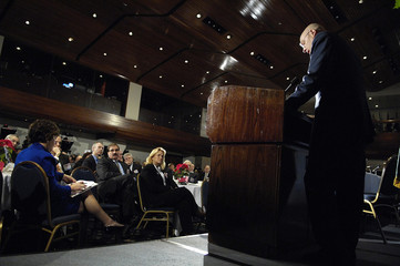 U.S. Treasury Secretary Paulson attends a national housing summit held by the Office of Thrift Supervision in Washington
