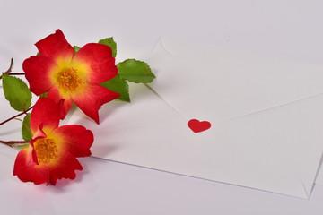 薔薇と手紙