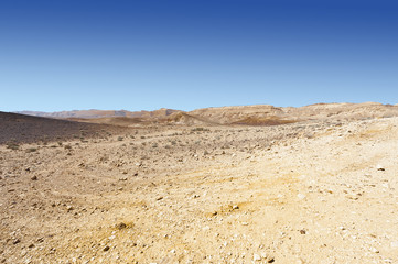 Stone Desert in Israel