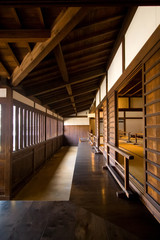 Traditional Japanese wooden house