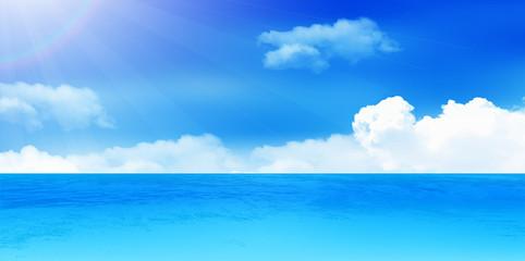 海 夏 風景 背景